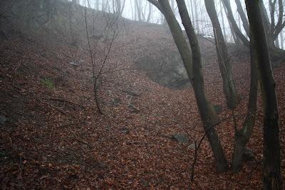 Malá baňa - povrchové dobývky