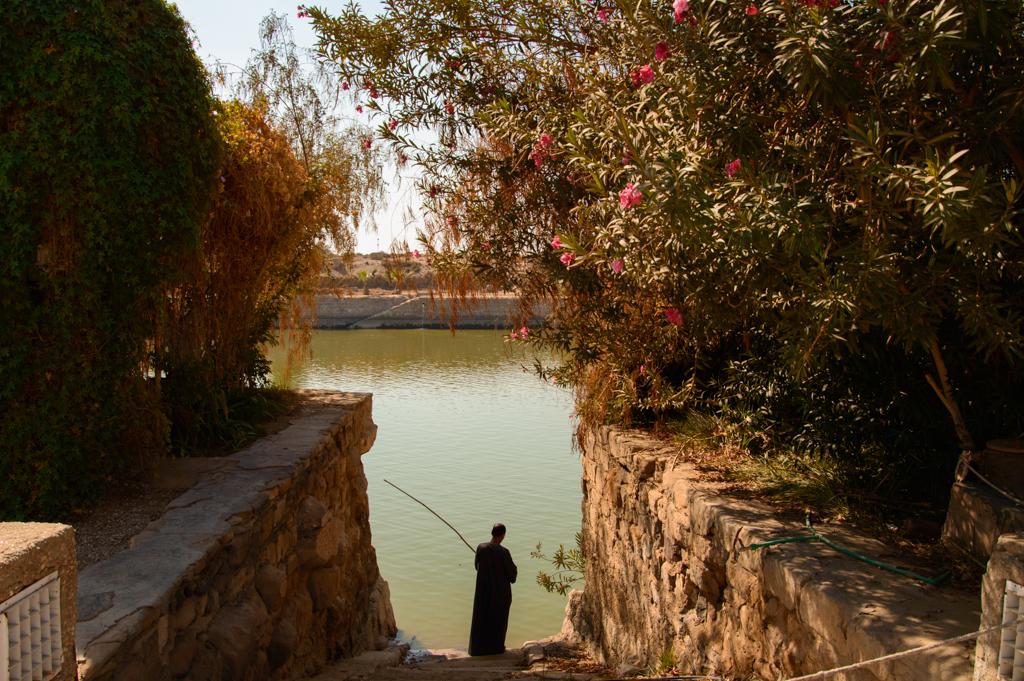Священное озеро в Карнакском храме