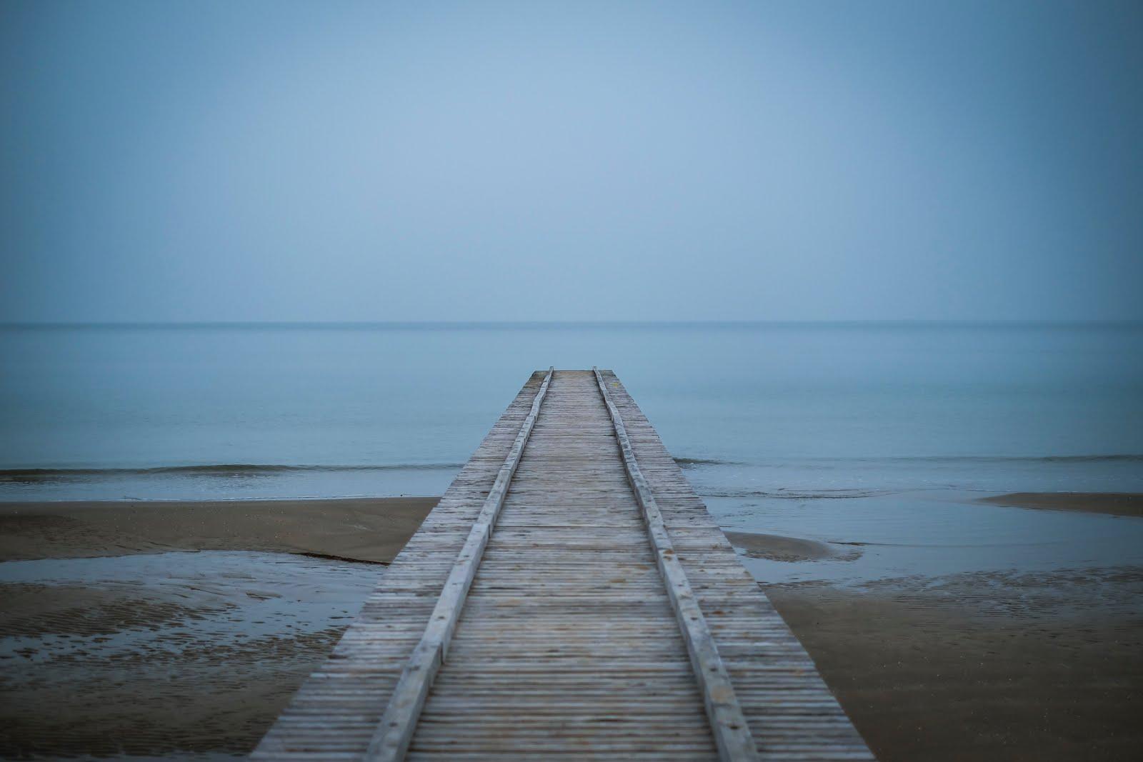 Jesolo - il mare d'inverno