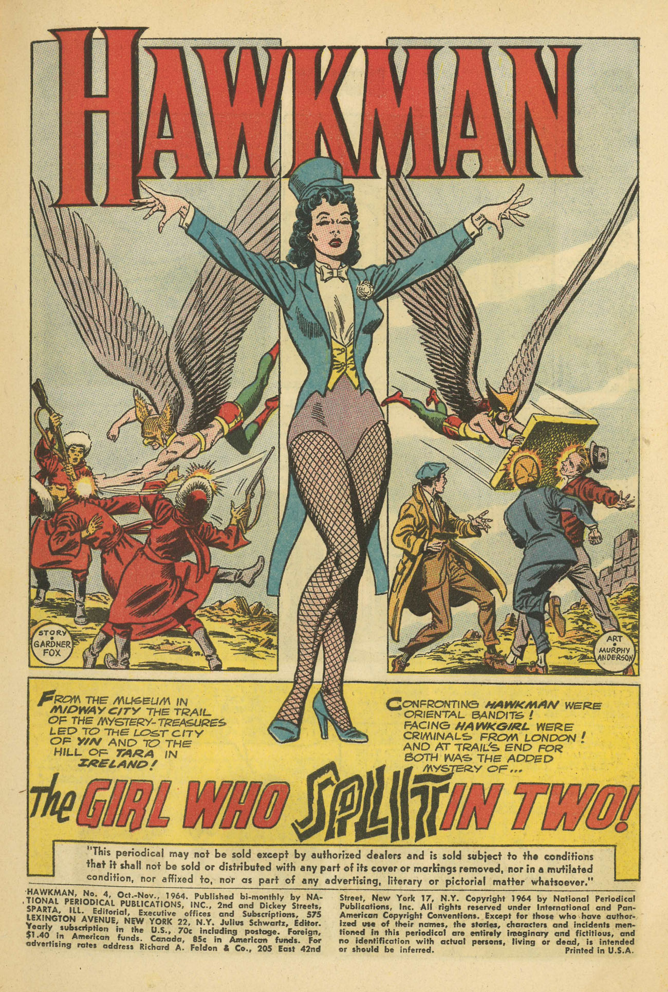 Hawkman (1964) issue 4 - Page 3
