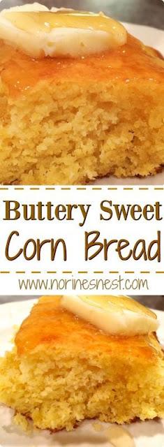 Buttery Sweet Corn Bread