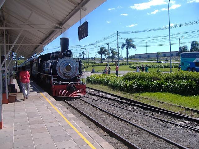 Estação da Maria Fumaça, Carlos Barbosa, Serra Gaúcha