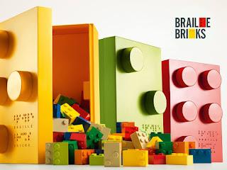Τουβλάκια με braille