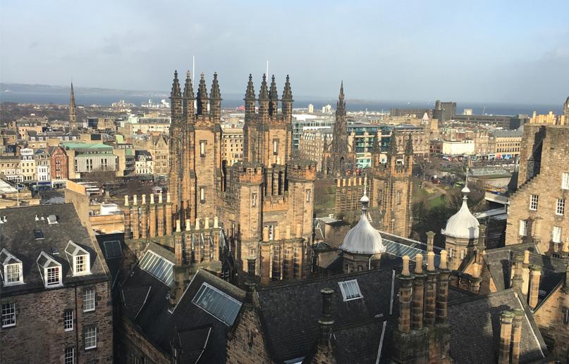 Edinburgh House Top View