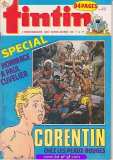 Tintin-numéro 50, année 38, 1983, Spécial hommage à Paul Cuvelier