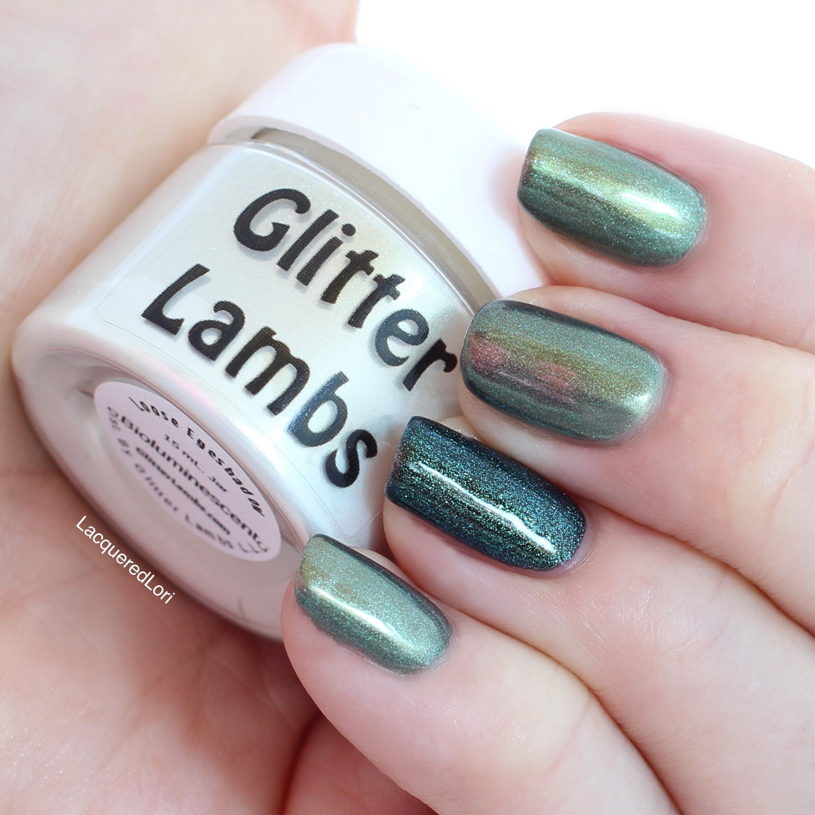 Glitter Lambs: Lacquered Lori Shows Us How To Use Glitter Lambs ...