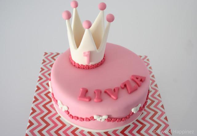 taart 1 jaar Taart voor een meisje dat 1 jaar werd! (Pagina 1)   Taarten Parade  taart 1 jaar