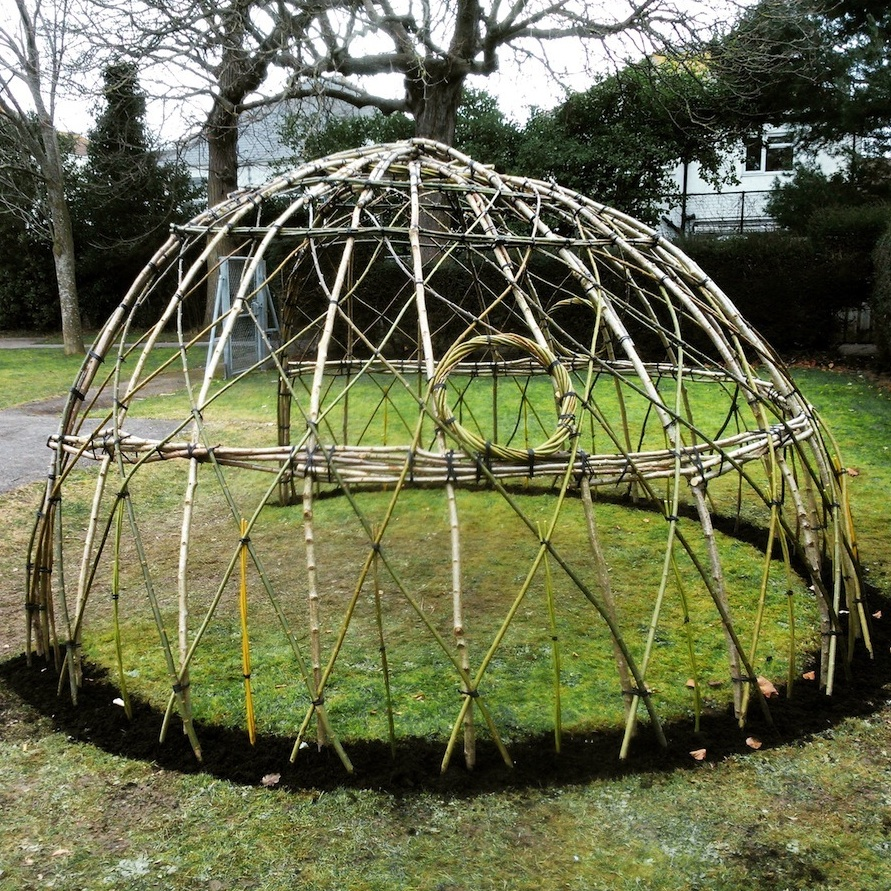 Beach House Park willow dome