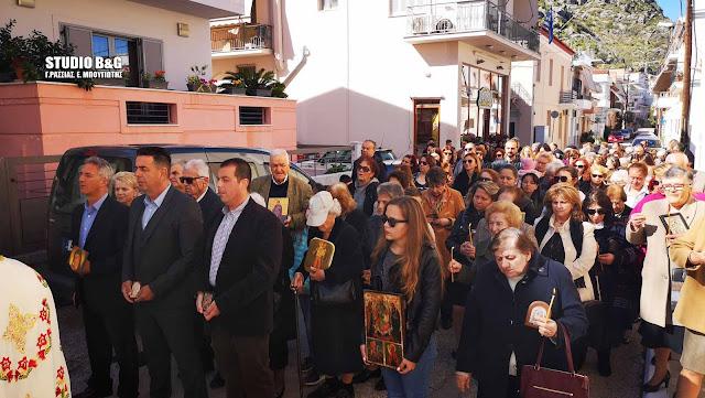 Την εορτή της αναστήλωσης των Ιερών Εικόνων γιόρτασαν στο Ναύπλιο (βίντεο)