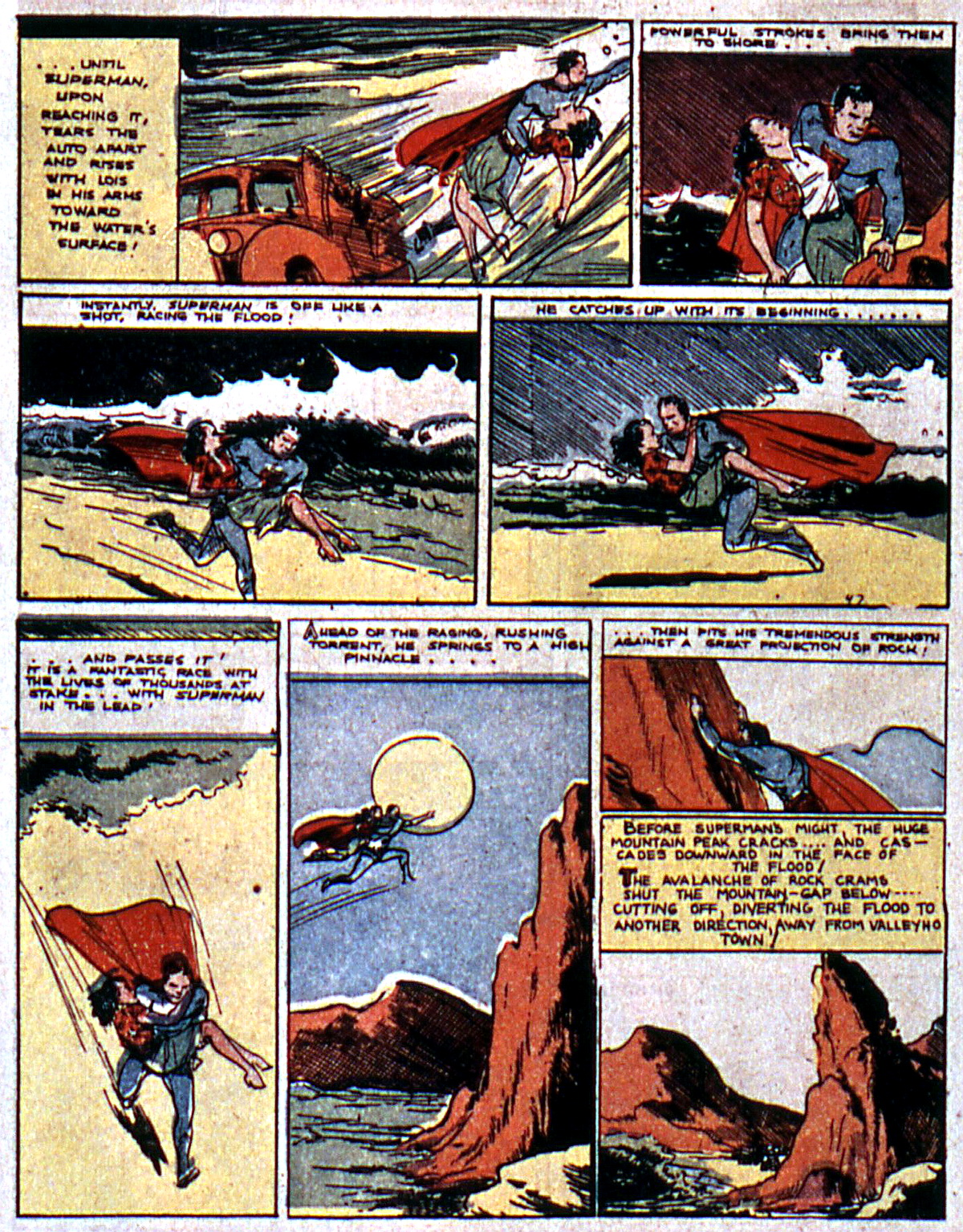 Read online Action Comics (1938) comic -  Issue #5 - 10
