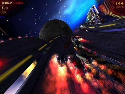 تحميل لعبة السباق فى الفضاء Space Extreme Racers