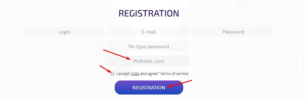 Регистрация в Building Invest-ICC 2