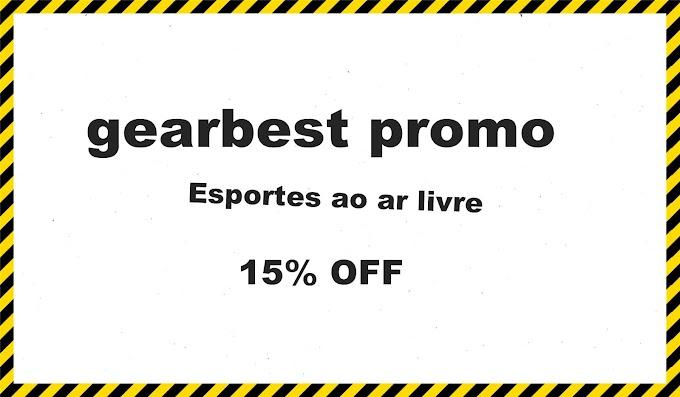 gearbest promo 15% OFF   Esportes ao ar livre