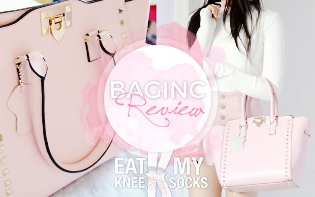 If you've ever heard of BagInc, the popular, designer-inspired bag company that YouTubers and bloggers have been raving about, today I'm reviewing their pink Rockstar calfskin leather bag, a stylish, cute, yet elegant leather bag that combines a sweet pastel pink color with chic golden studs. Review ahead!