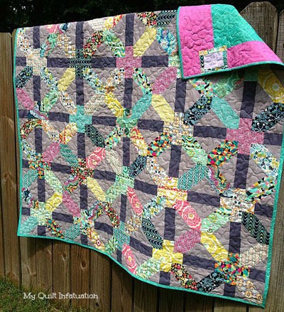 Feeling Groovy by My Quilt Infatuation