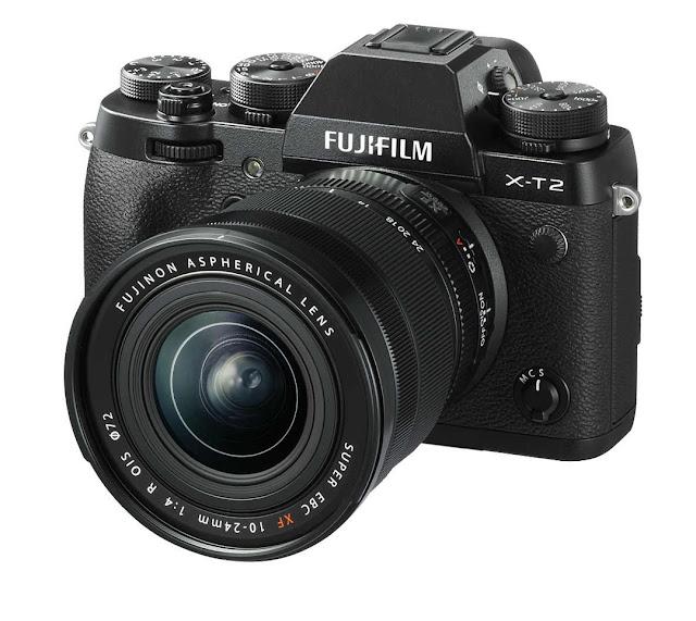 Fotografia della Fuji X-T2 con il 10-24mm