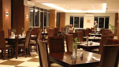 Restaurant hotel ebony di batulicin