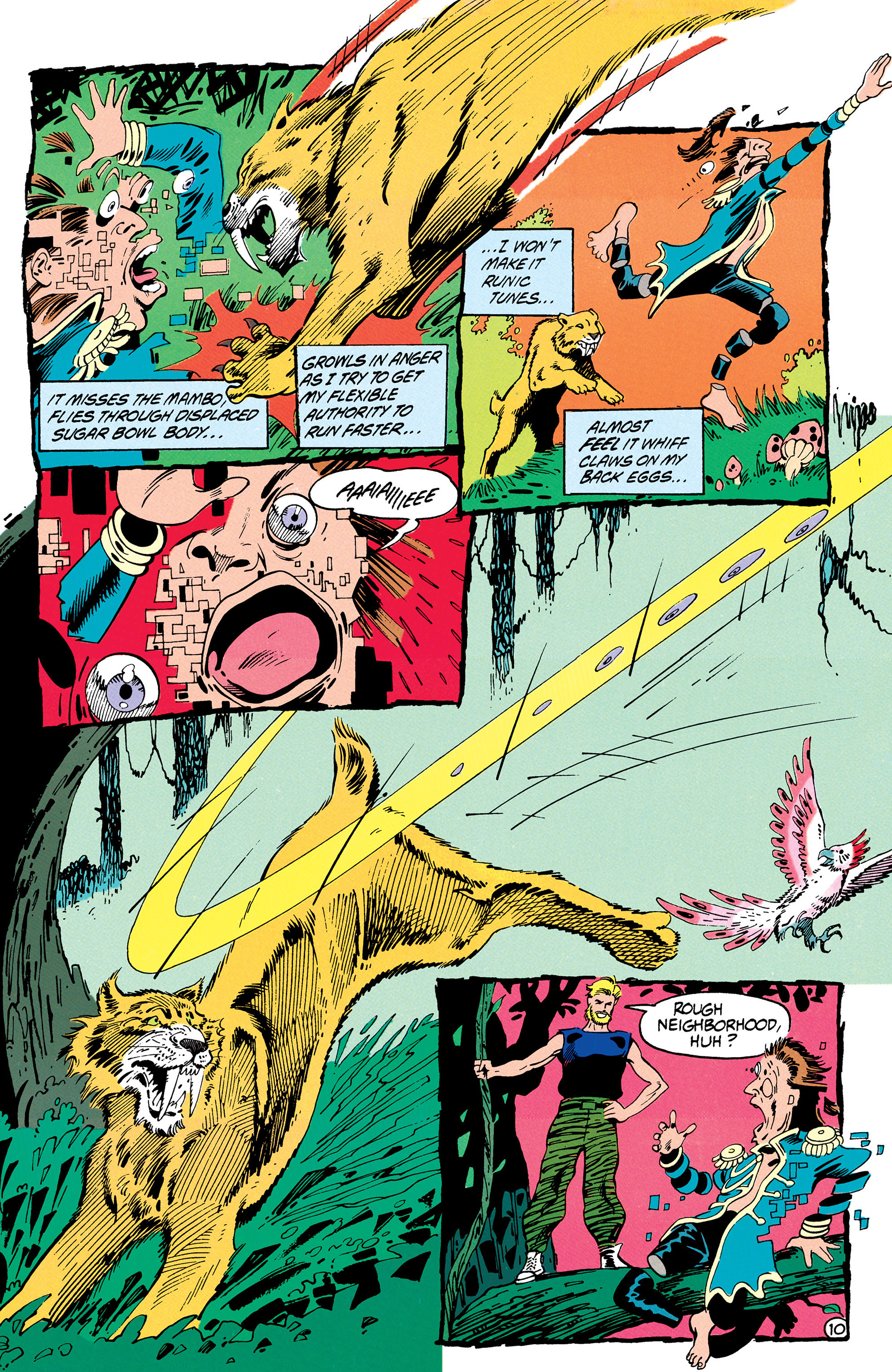 Read online Animal Man (1988) comic -  Issue #31 - 11