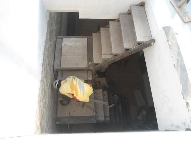 tangga besi minimalis rumah