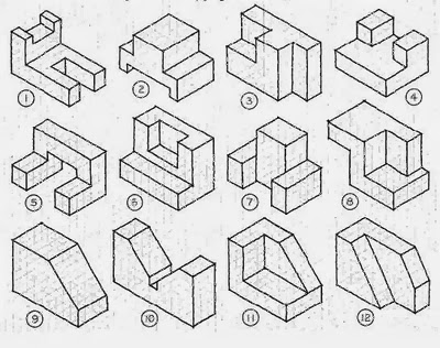 grant wood design blog: isometric sketching
