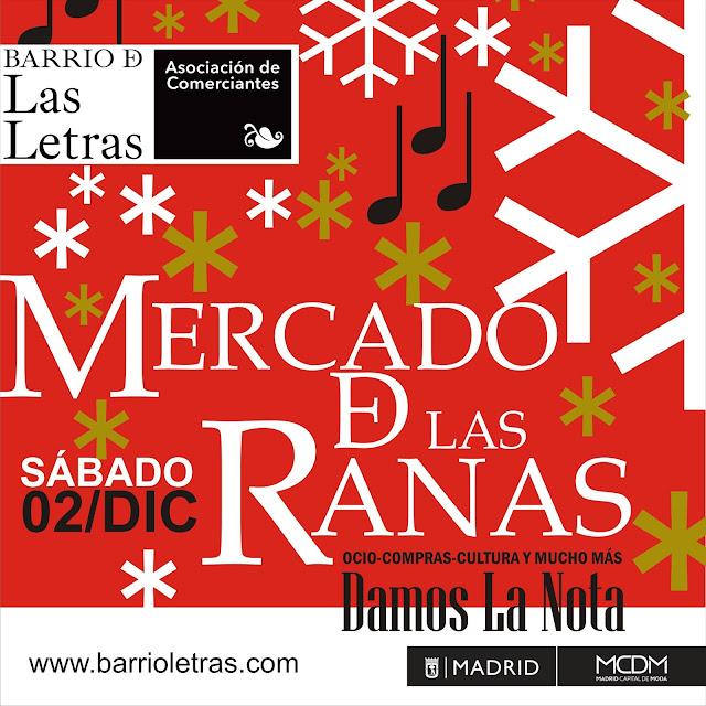 Mercadillo de las Ranas Edición Navidad. 2 de diciembre