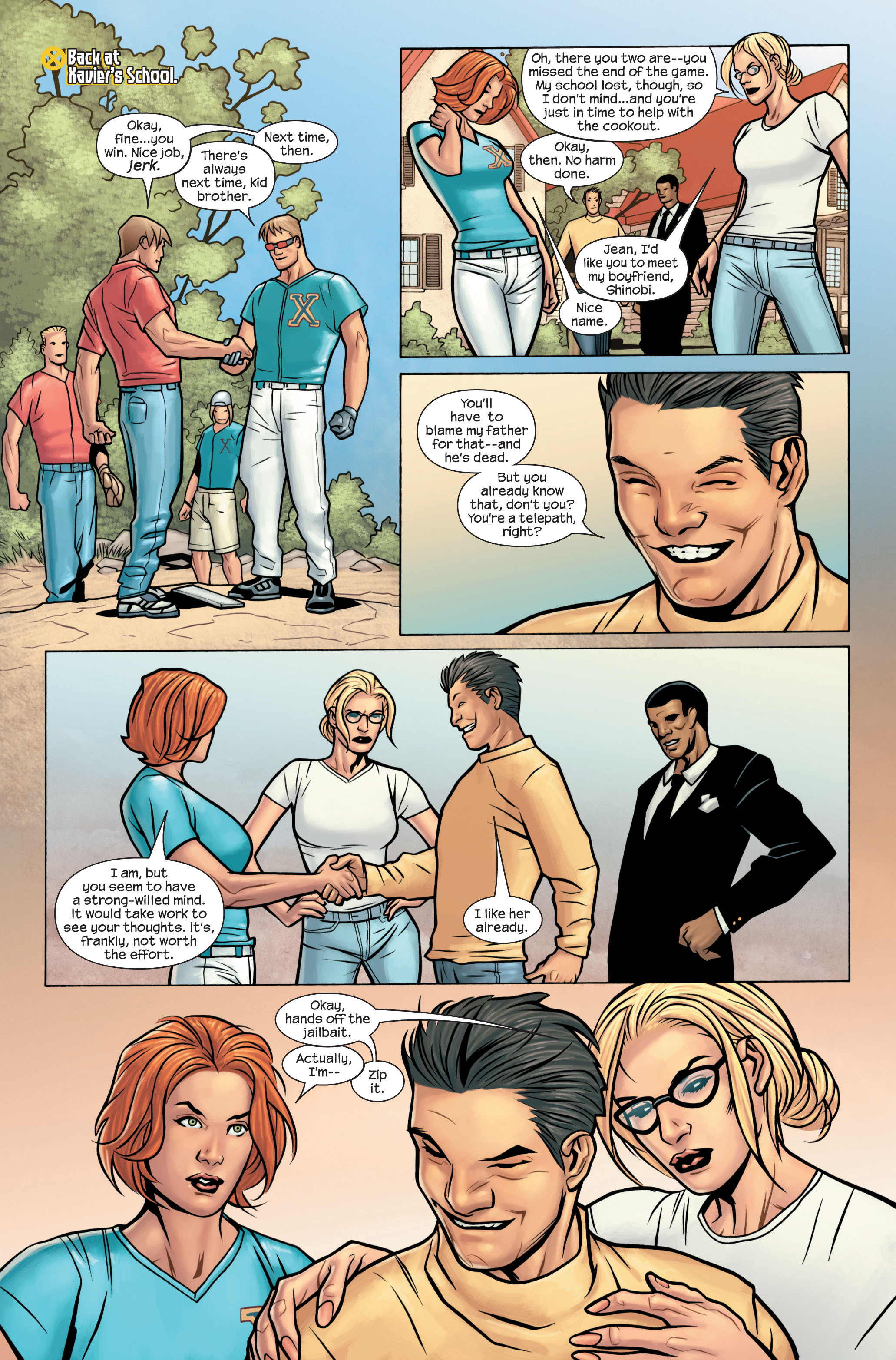 Read online Ultimate X-Men comic -  Issue #88 - 13