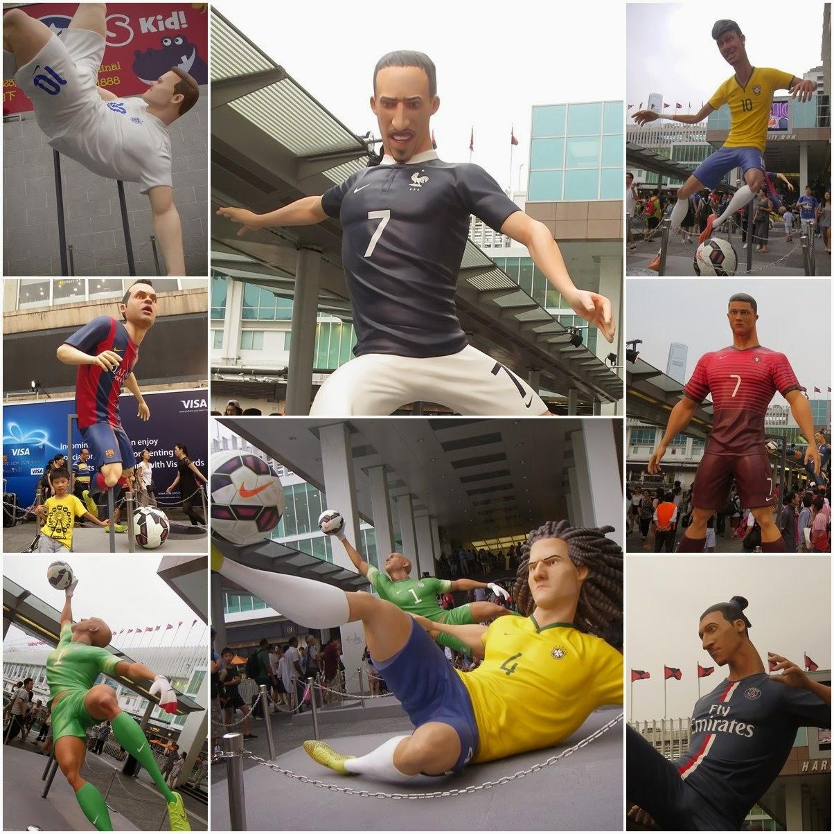大仁生活: 決戰對面海足球小球 The Last Game Nike 硬撼adidas @ 海港城
