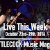 Live This Week: October 23rd-29th, 2016