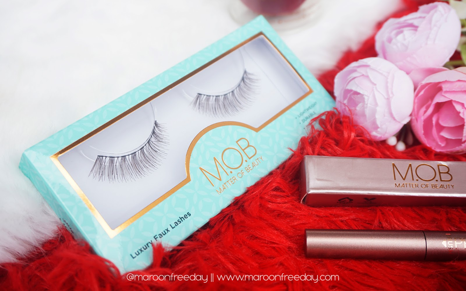 Review MOB Luxury Faux Lashes