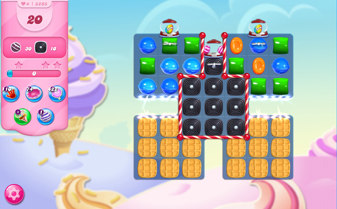 Candy Crush Saga level 5265