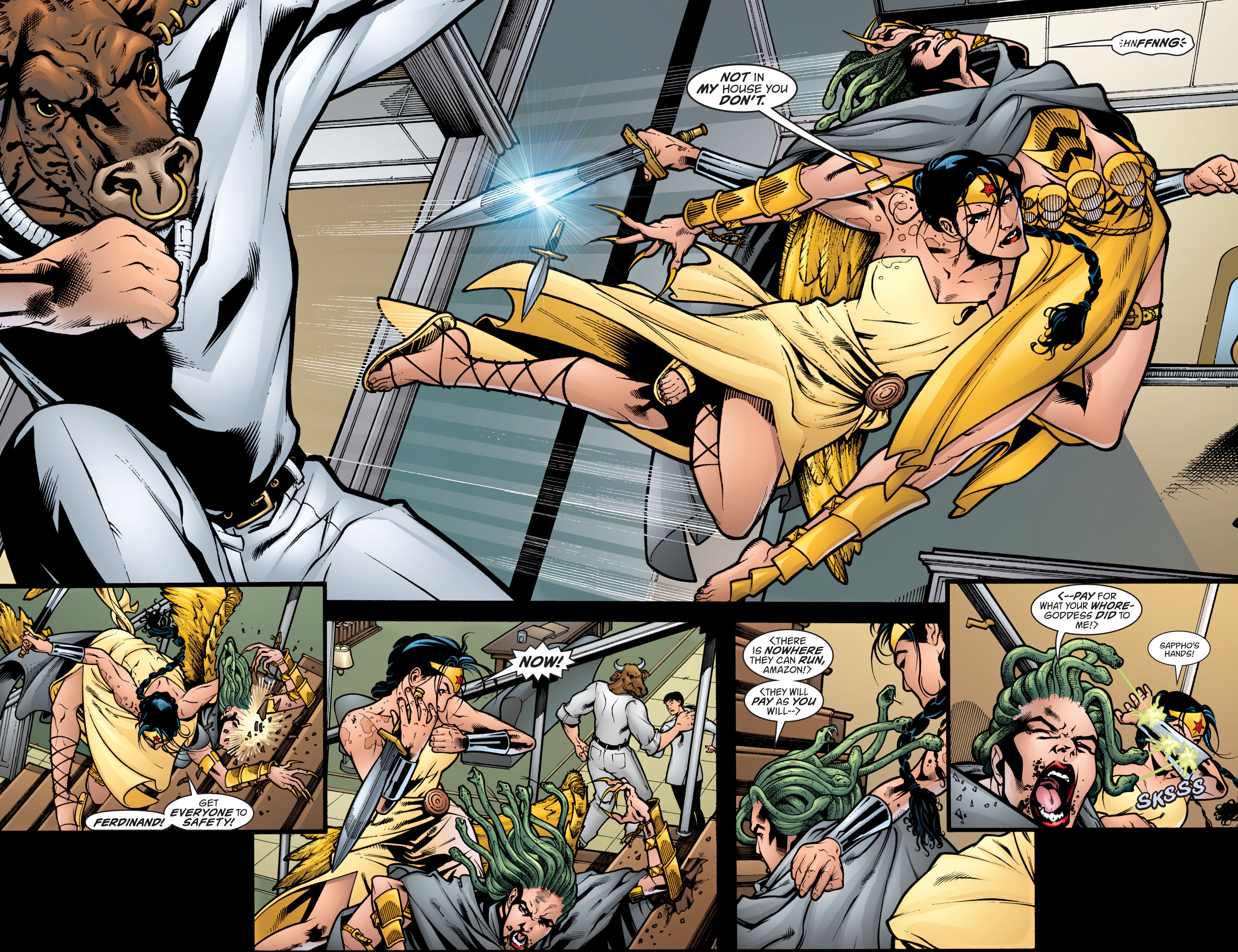 Read online Wonder Woman (1987) comic -  Issue #209 - 9