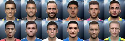 PES 2016 Faces Pack vol. 16 by Andrey_Pol and Gonduras2012