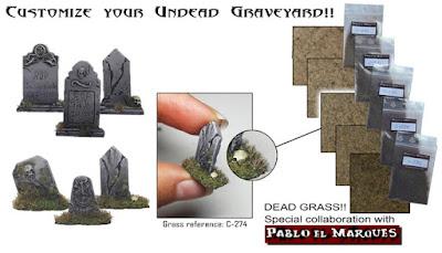 Undead Graveyard: Dead Grass