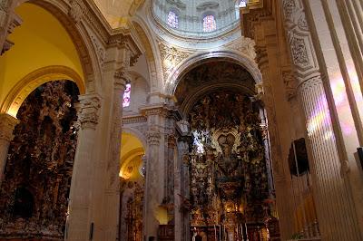 Resultado de imagen de iglesia colegial del salvador sevilla interior