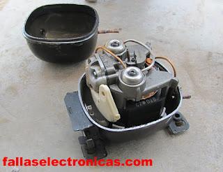 reparar compresor hermetico de nevera