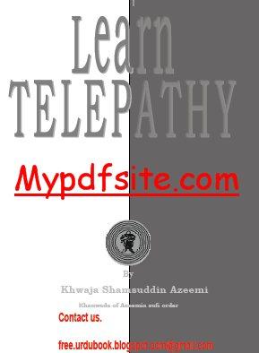 Telepathy by Khawaja Shamsudin Azimi