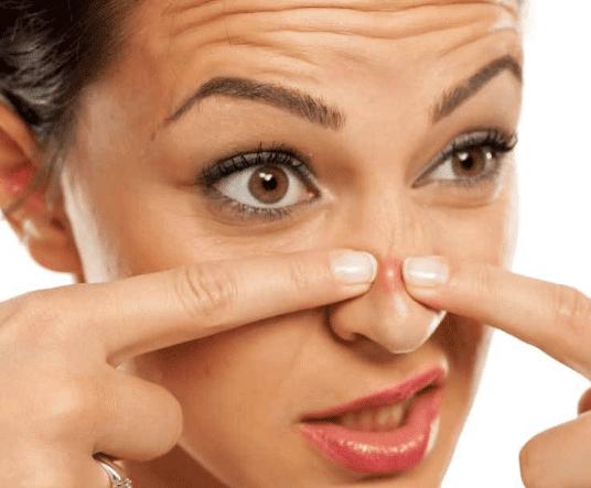 imagenes de tipos de granos en la piel