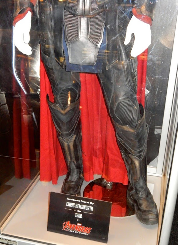 Thor costume boots Avengers Age of Ultron