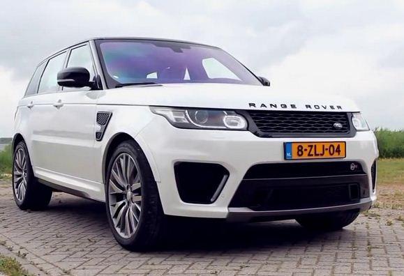 2017 Range Rover Sport SVR