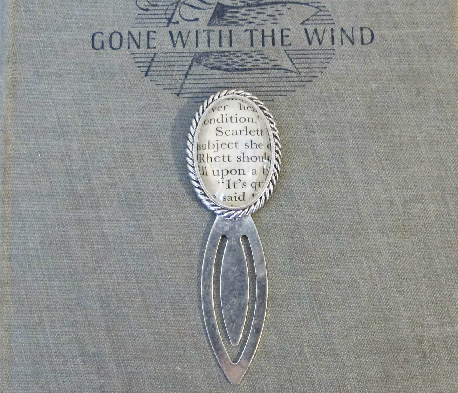 image gone with the wind bookmark domum vindemia scarlett o'hara rhett butler classic literature