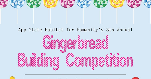 App State Gingerbread House Competition