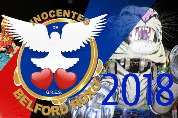 Letra do samba 2018 da Inocentes de Belford Roxo