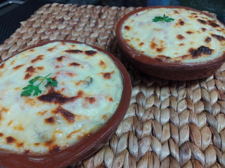 receta Gratinado de puerros cocina facil