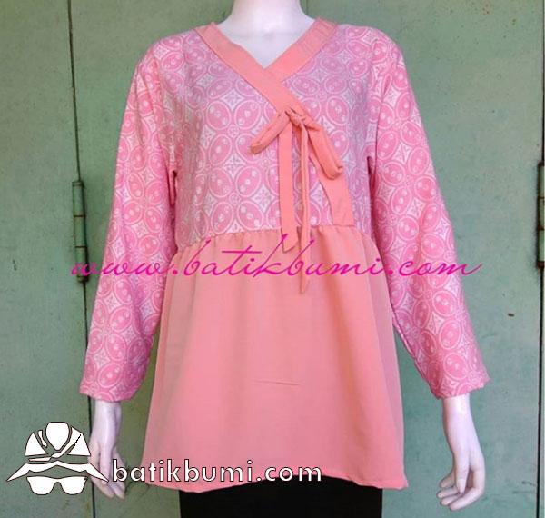 Blus Batik Kimono Kawung