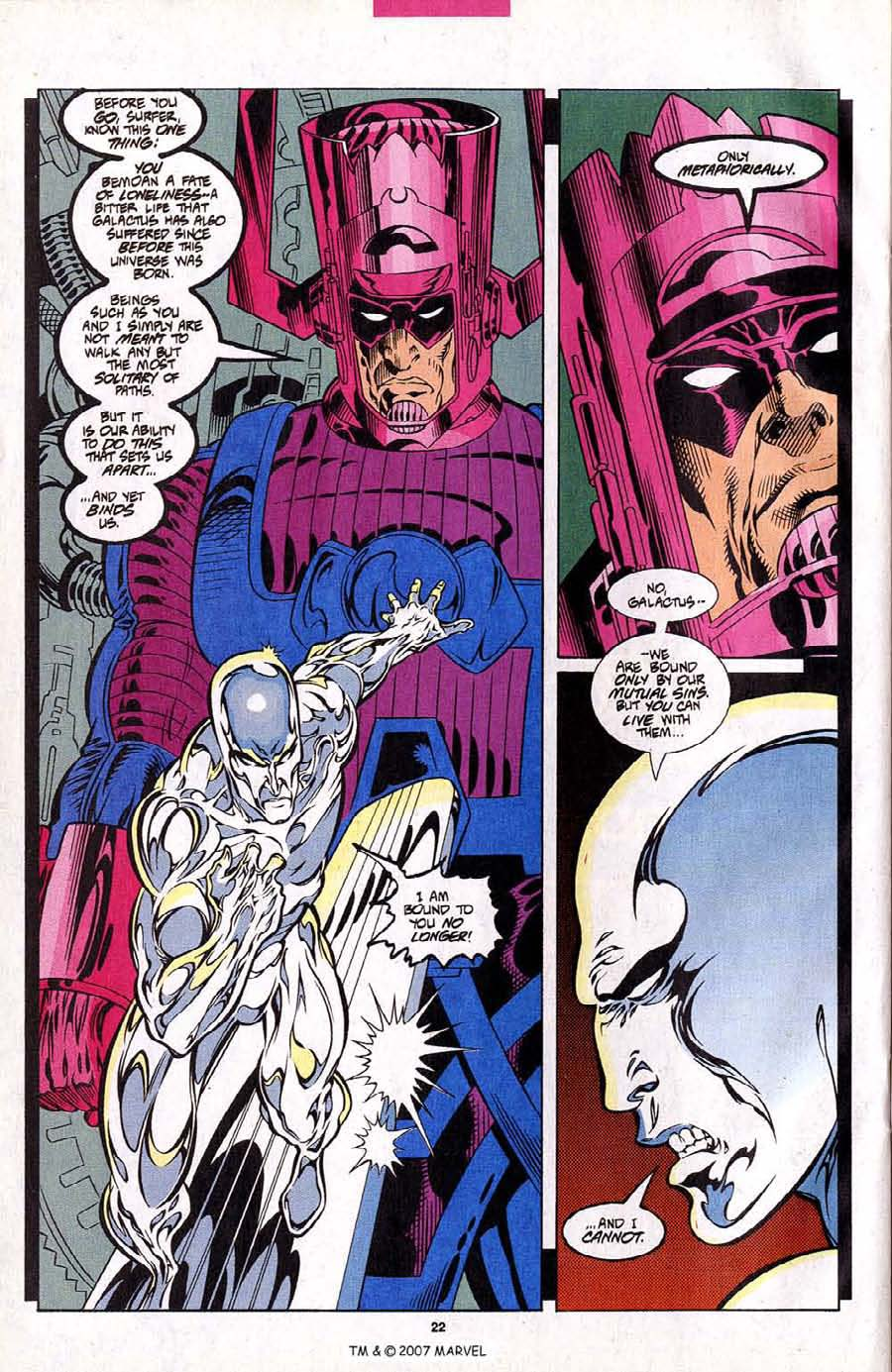 Read online Silver Surfer (1987) comic -  Issue #102 - 24