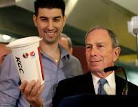Coca, Coke, Pepsi: los refrescos versus el alcalde de New York