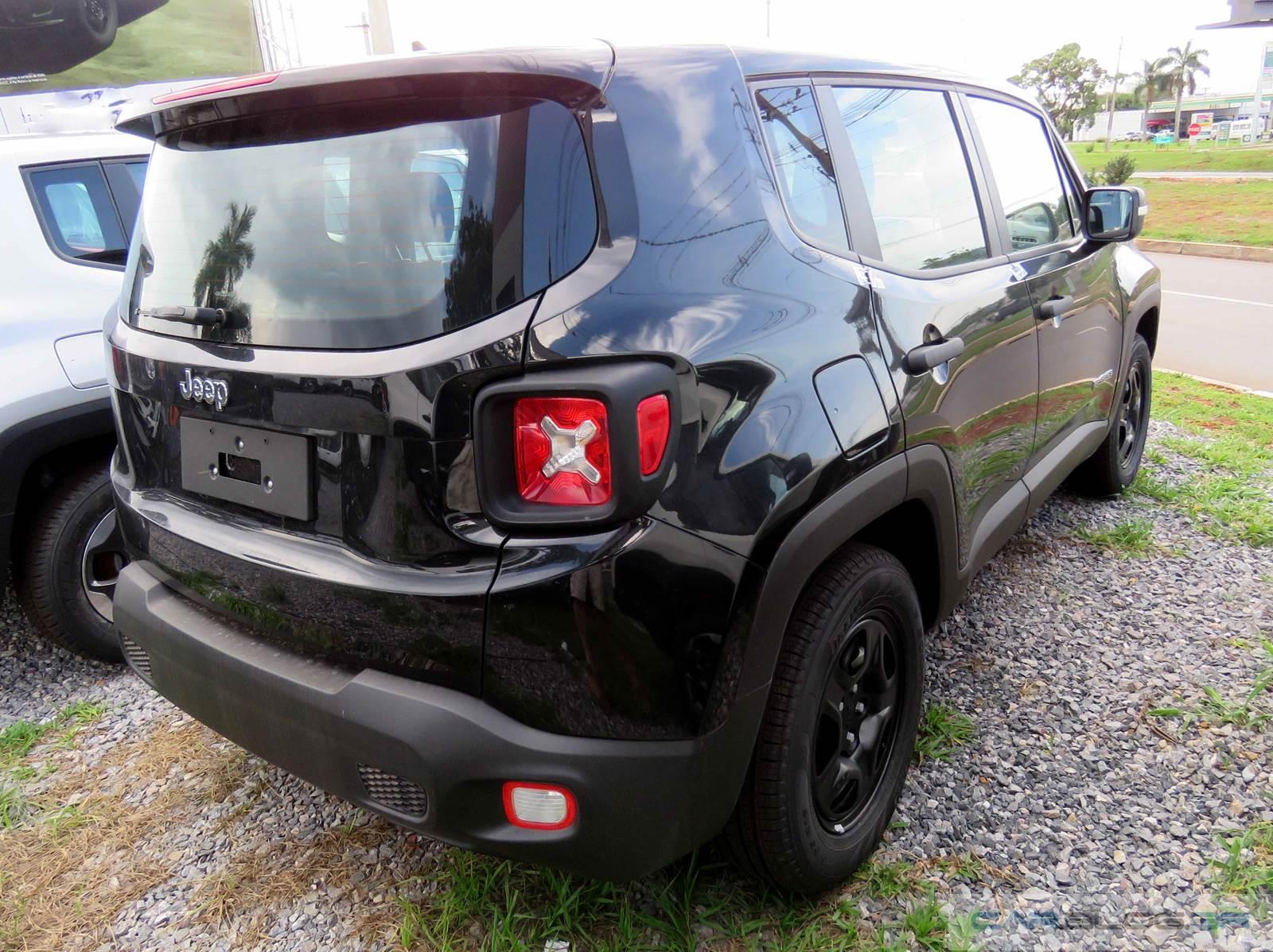 Jeep Renegade Automático 2016 para pessoas com deficiência