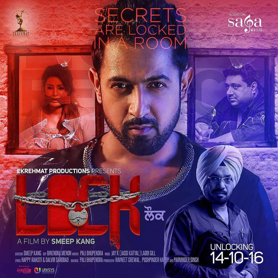 full cast and crew of Punjabi movie Lock 2016 wiki,  Smeep Kang, Gippy Grewal, Geeta Basra, Gurpreet Ghuggi, Gulshan Grover Lock story, release date, Actress name poster, trailer, Photos, Wallapper