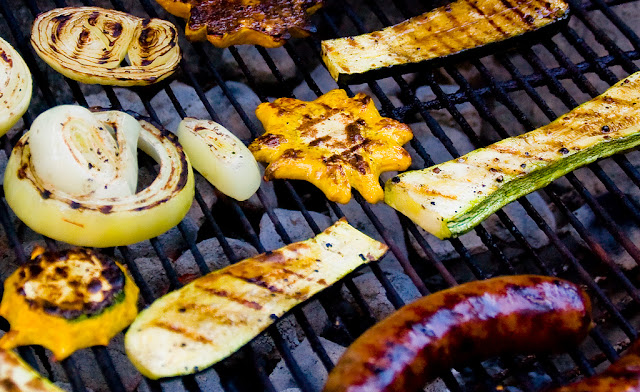how to grill vegetables, eating fabulously, christopher stewart