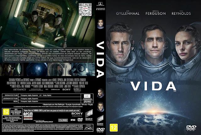 Capa DVD Vida [Exclusiva]